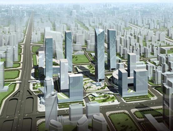 描绘城市风景线立柱地产的远洋综合体v城市之路城市高位广告设计分辨率设置图片