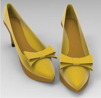 CAD快速绘制高跟鞋
