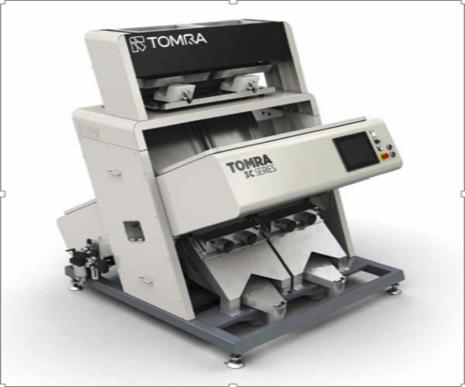 陶朗集团隆重发布TOMRA 3C分选设备 激光技术颠覆日常分选