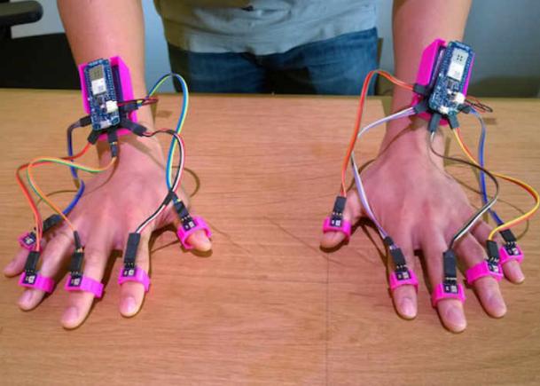 加州大学开发精准追踪系统 任何平面都是触摸屏