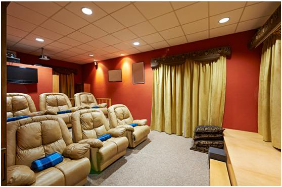 合升影音汇私人定制地台娱乐室风格影院